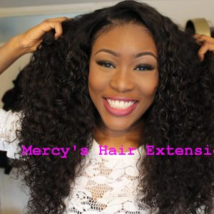 Virgin Mongolian Loose Curly Hair | Natural Hair Extensions | Remy